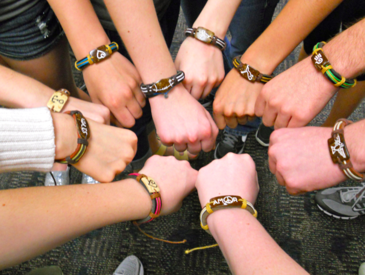 Wear a Band, Change a Life: Interact Club sells Yuda Bands to raise money for education in third-world countries