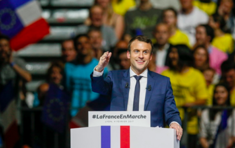 Emmanuel Macron defeats Marine Le Pen in the election.