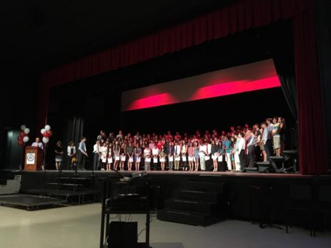 A New Generation of Scientists: Science National Honor Society inductions take place on May 30