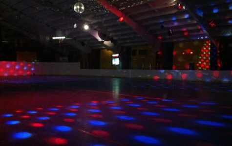 Seniors enjoy a night of skating as they prepare to say goodbye
