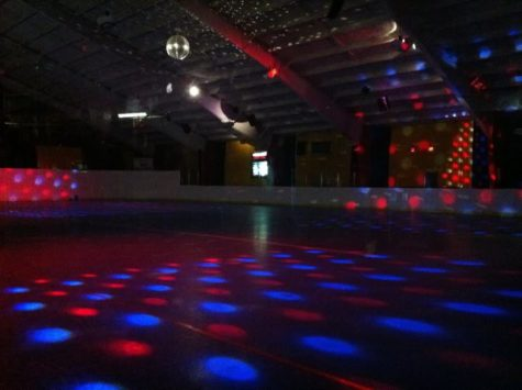 Seniors enjoy a night of skating as they prepare to say goodbye