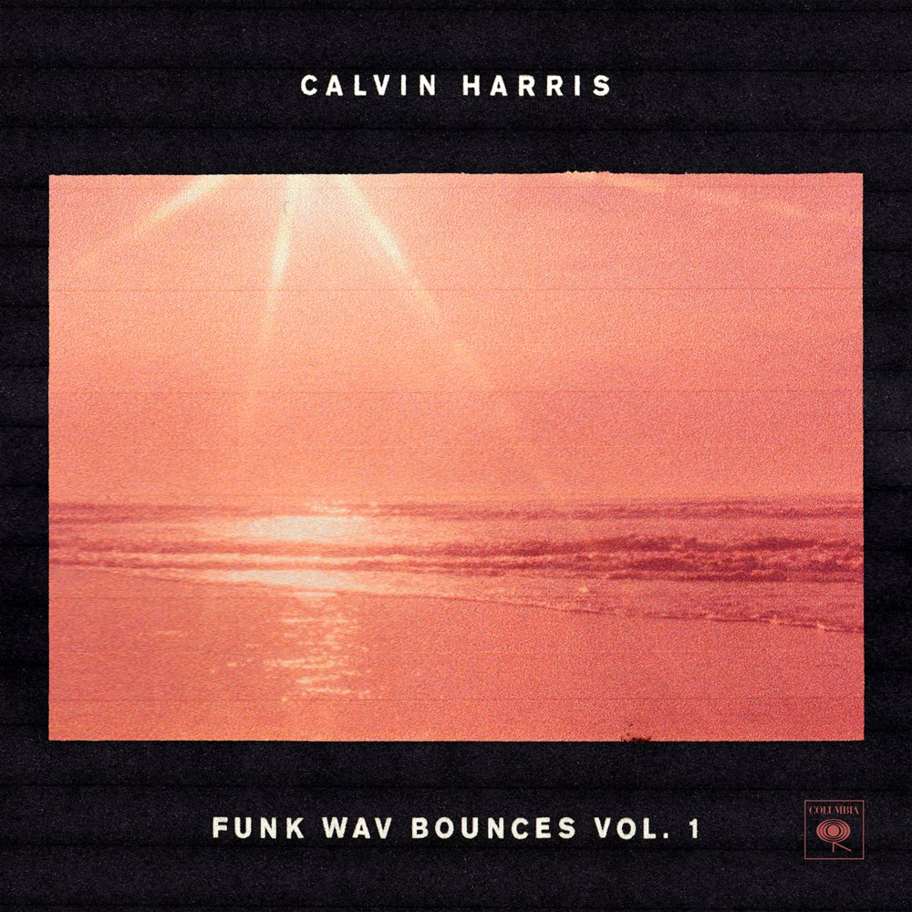The cover art for Harris' new album sets the summer scene.