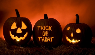 Trick-or-treaters have problems with the current curfew hours.