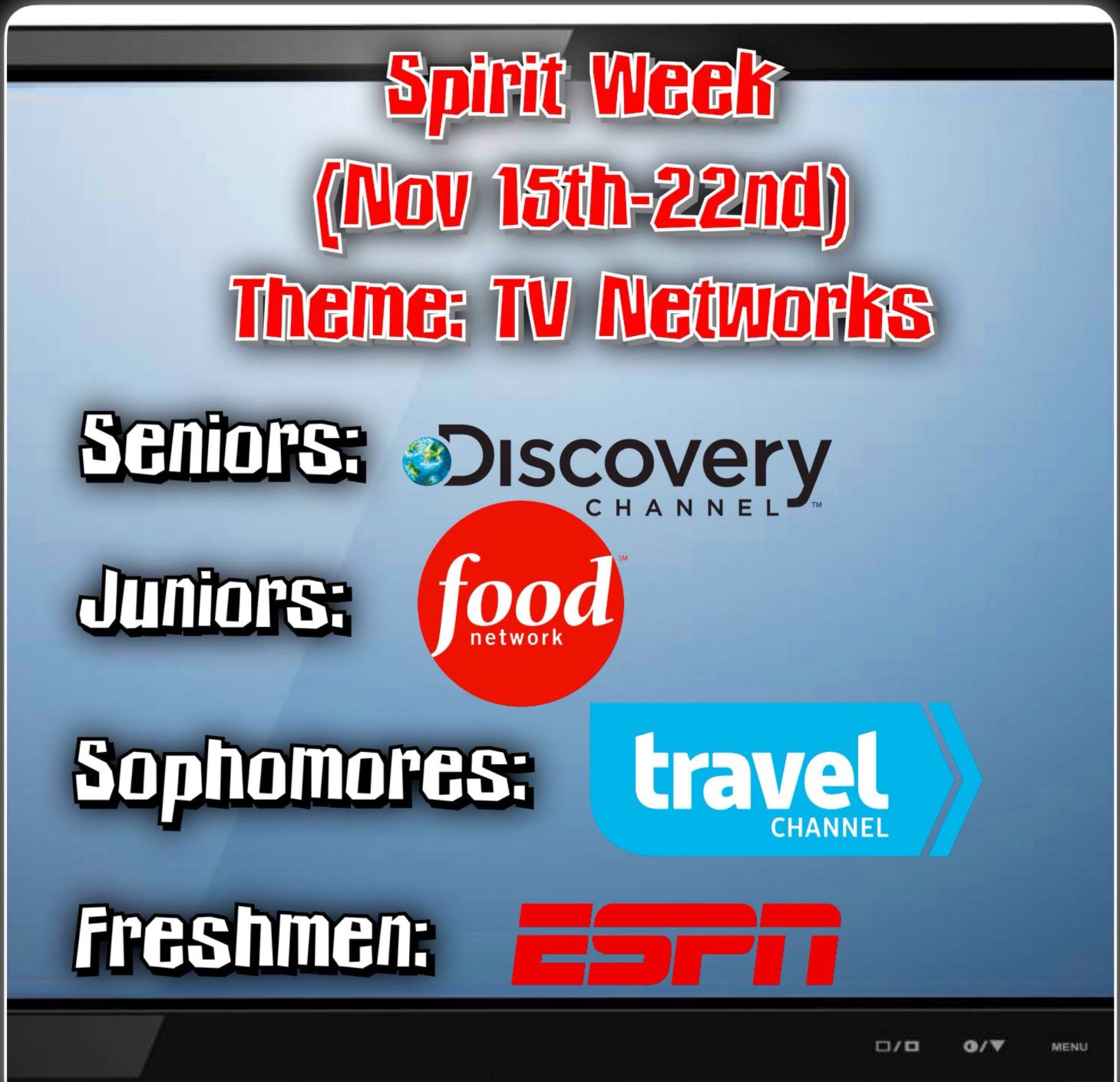 Spirit Week is an exciting time for the freshmen class.