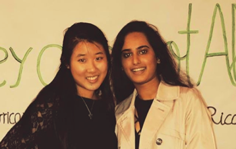 Ishita Panwar ('19) and Joyce Park ('19) organize a community-wide fundraiser to raise awareness and help victims of recent hurricanes