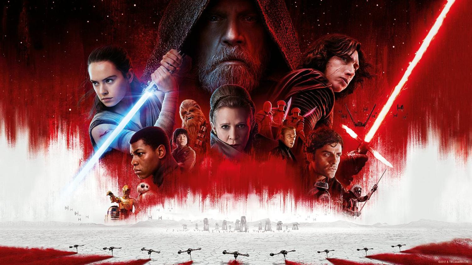 Star Wars: The Last Jedi is the latest installment in the Star Wars Franchise