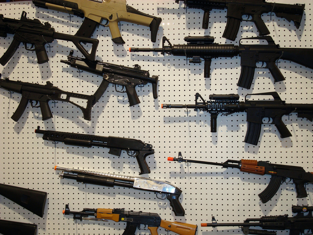Guns are becoming a threat to society in America today.