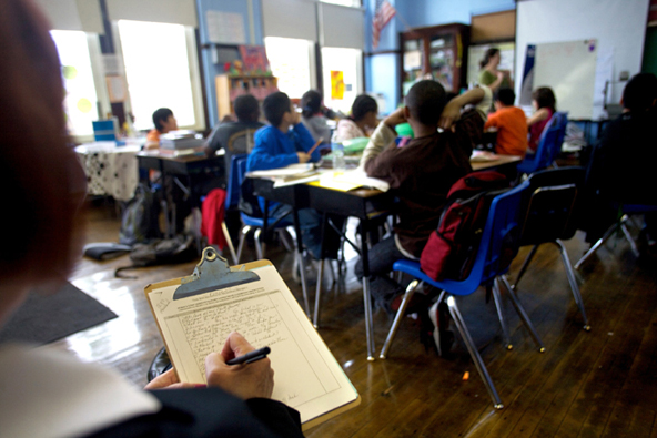 Unannounced teacher observations open up the possibility for a greater learning experience for students, and better assessment of teacher performance.