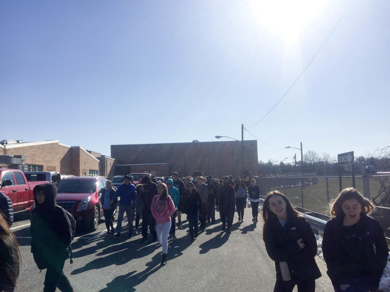 Cherry Hill East students participate in national walkout to honor gun violence victims