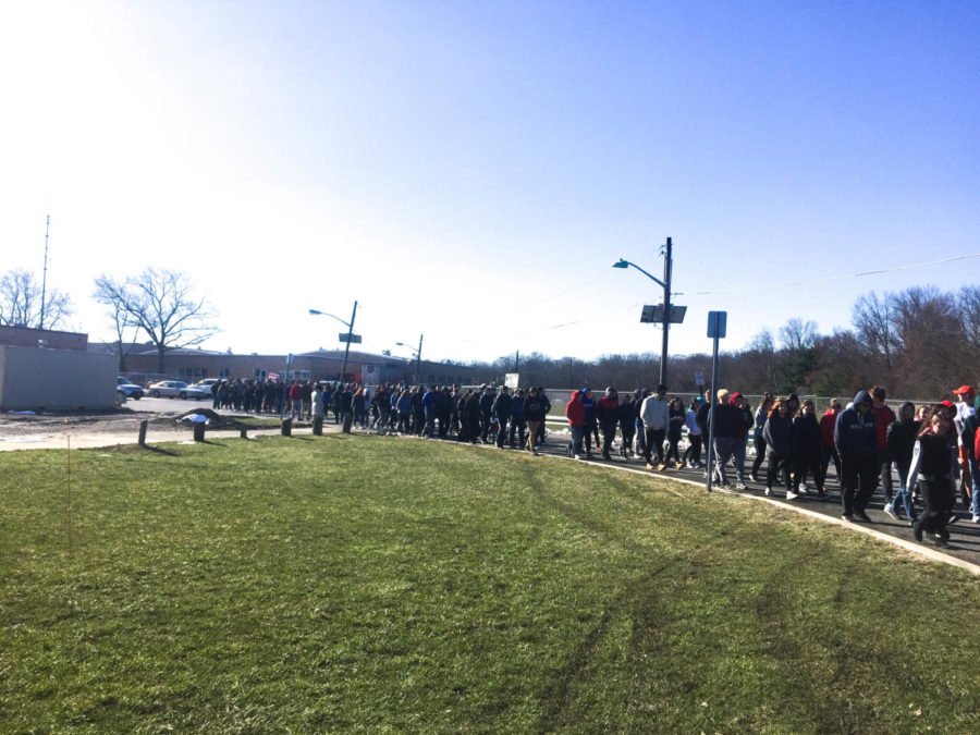 East Students participate in various activities surrounding gun violence prevention for civic engagement week.