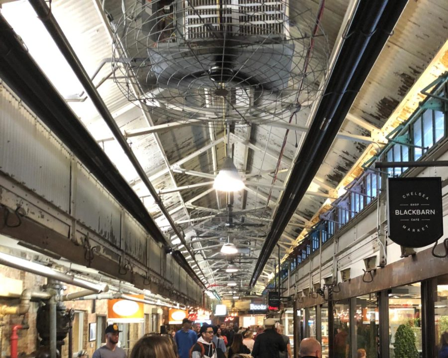 Exploring the Chelsea Market