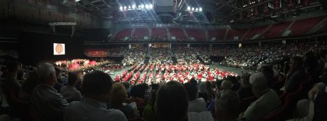 Class of 2018 graduates at the Liacouras Center