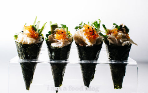 Oki Maki's seaweed cones bring new tastes to the sushi restaurant