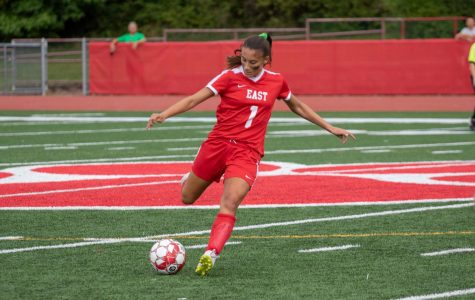 PHOTOS: Girls Soccer Falls To a Tough Team in Eastern