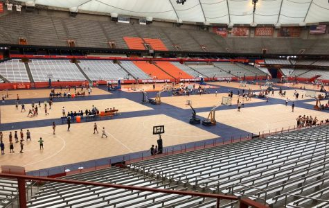 A trip to Syracuse University and its iconic Carrier Dome can easily be paired with visits to other schools in the New York area. Photo by Molly Phillips.