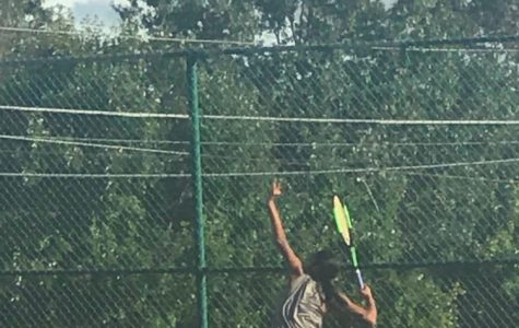 Pallavi Goculdas ('20) helps lead East Girls Tennis into the tournament