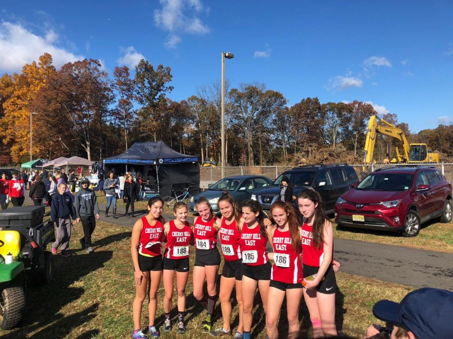 On+November+3%2C+the+East+girls%27+cross+country+took+fifth+place+at+the+The+New+Jersey+State+Interscholastic+Athletic+Association+%28NJSIAA%29+Sectionals.