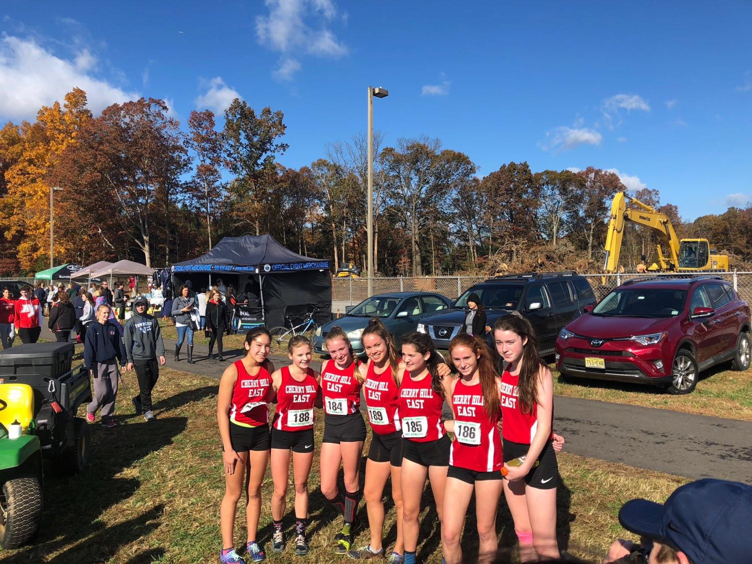 On November 3, the East girls' cross country took fifth place at the The New Jersey State Interscholastic Athletic Association (NJSIAA) Sectionals.