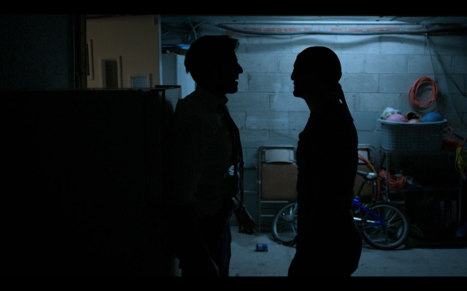 Daredevil and Agent Nadeem face off.
