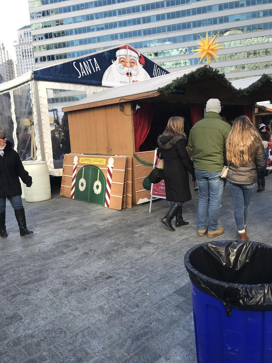 The festive Christmas Village in LOVE Park has something fun for everyone.