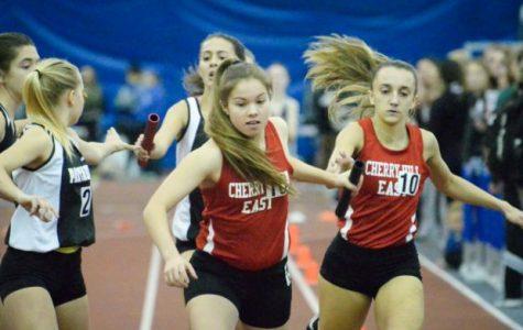 Girls Winter Track Team races towards a new season