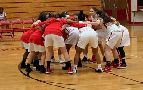 Girls basketball wins a thriller against Northern Burlington to open up the season