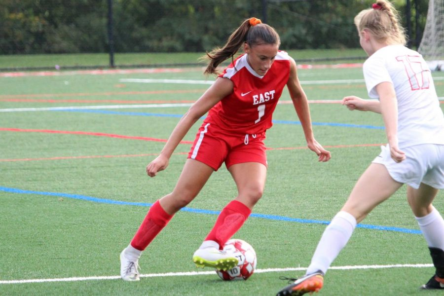 Isabella Rossetti ('20) commits to Kutztown University for soccer