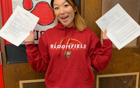 Sharon Um ('19) commits to Bloomfield College for volleyball