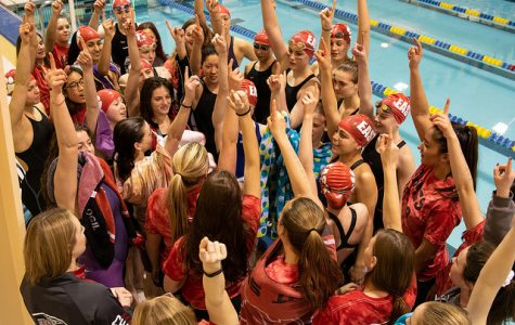 PHOTOS: East Girls' Swim team finished their season with a sectional title