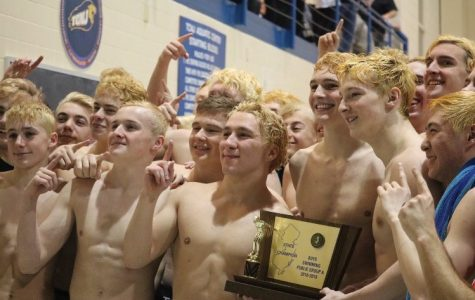 Boy's Swimming Regains the State Championship