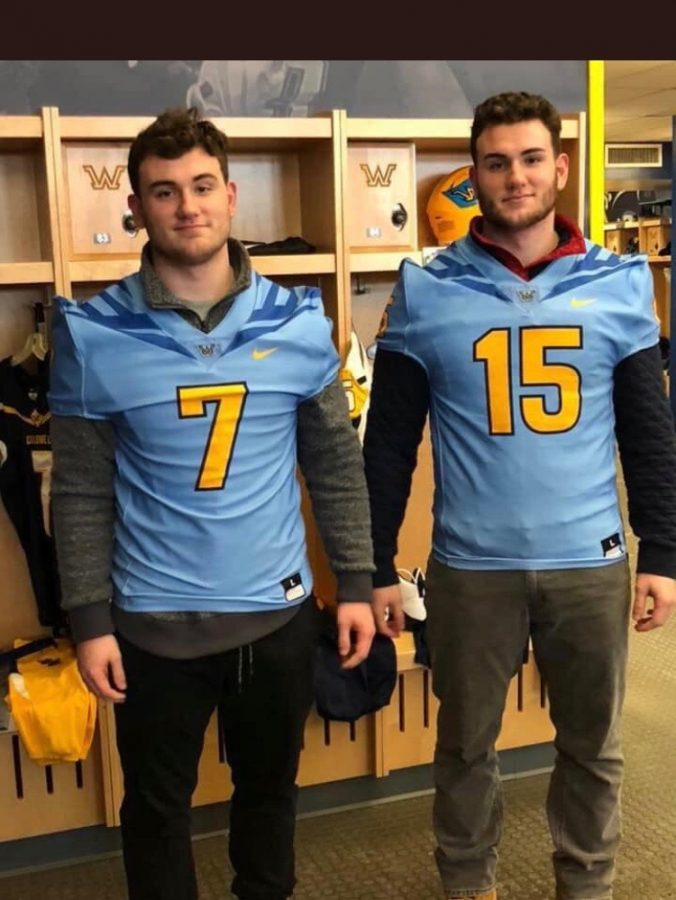Nick and Dante Gazzola ('19) commit to Wilkes University for football