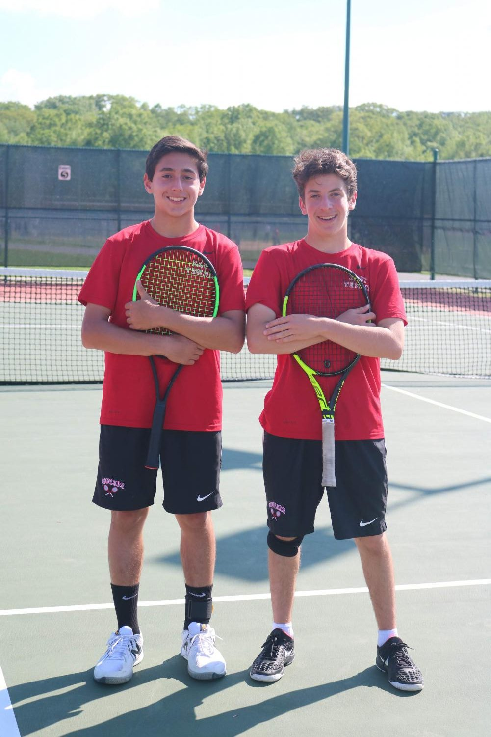 Brett Schuster ('22) and Nathan Belitsky ('22) were major assests to the Varsity team this season.