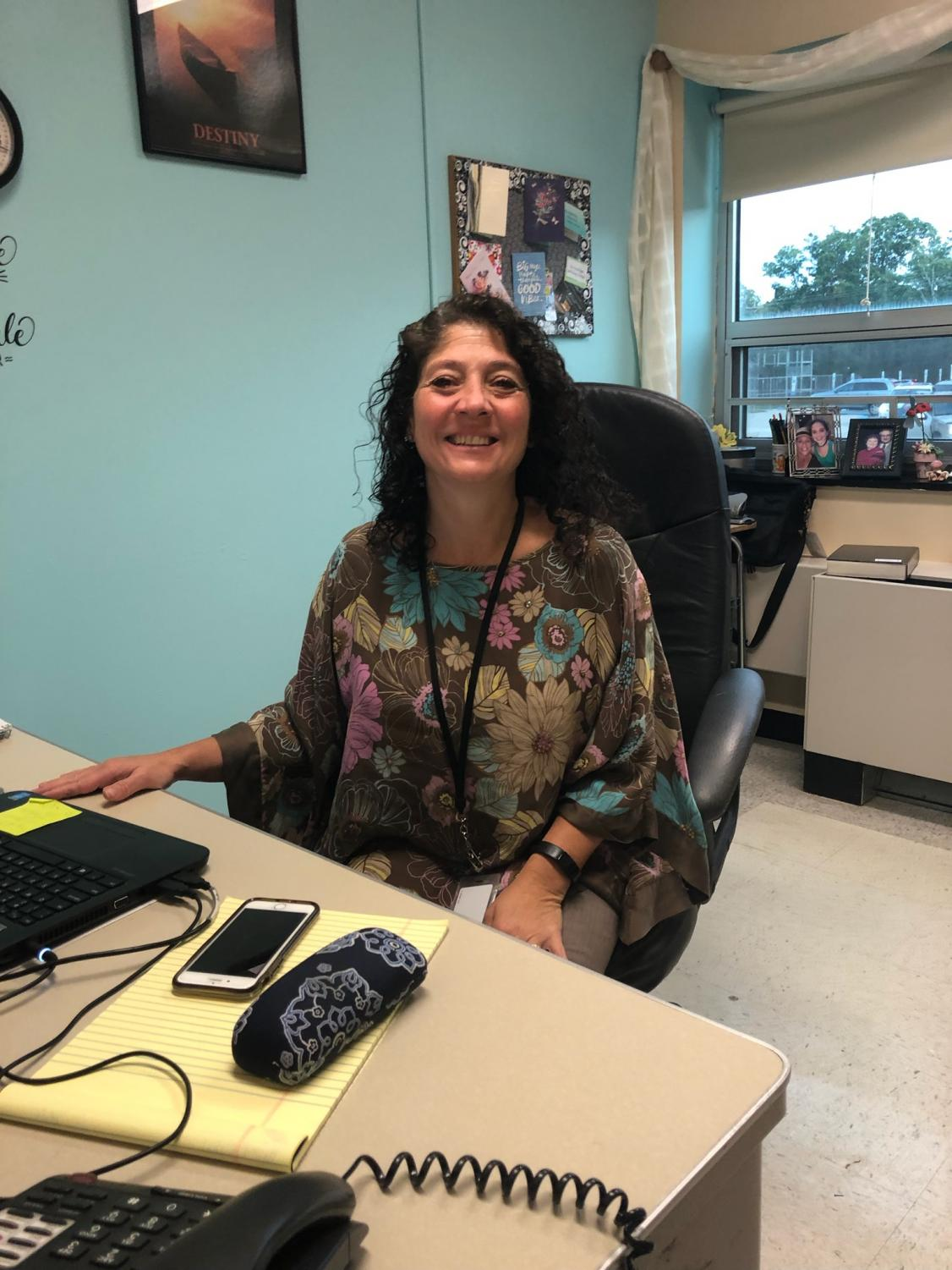Mrs. Stacey Butler already loves being a psychologist, at Cherry Hill East.