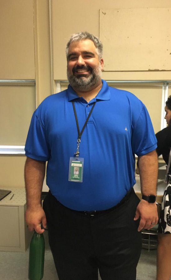 Mr.  Rob DiMedio begins teaching at both Cherry Hill high schools