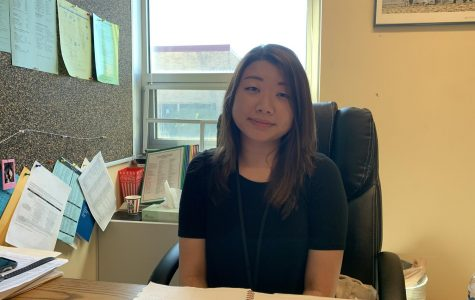 Ms. Maria Han is the new guidance counselor, and is already in love with her job.
