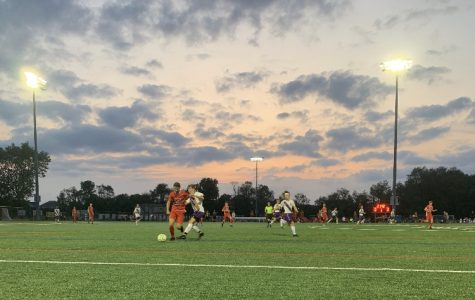 Boys Varsity Soccer ties against their crosstown rivals
