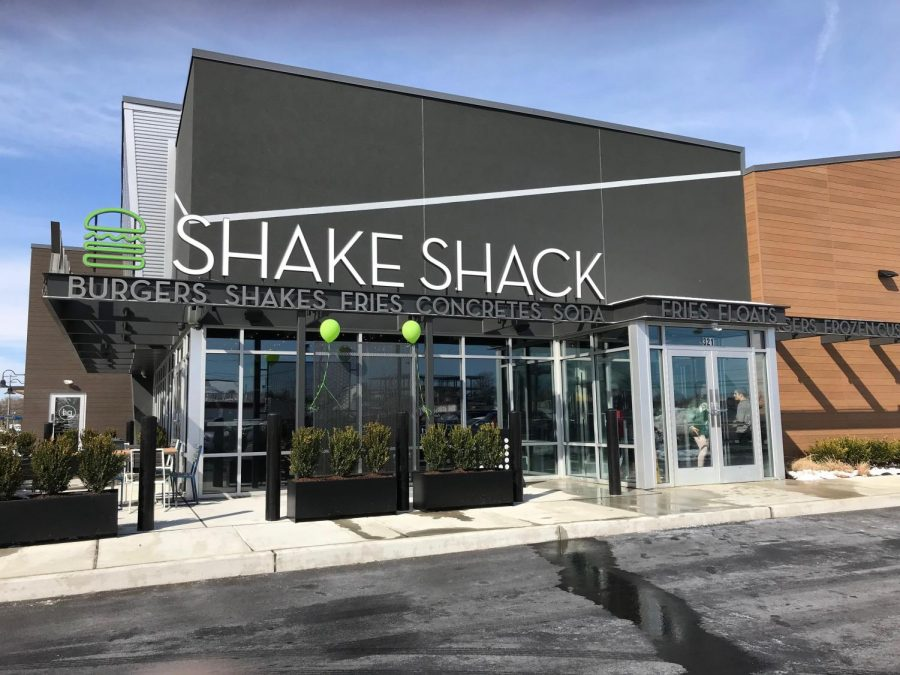 A new Shake Shack store opens in Cherry Hill.