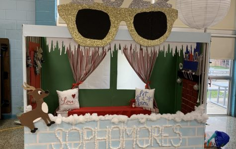 Sophomores win the 2019 booth competition
