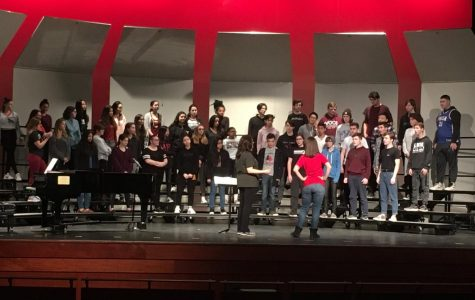 East's Vocal Department prepares for a magical night of music