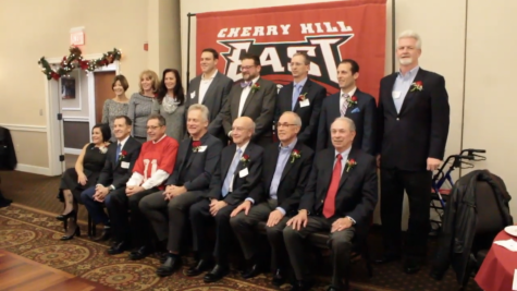 The 2019 Cherry Hill East Athletic Hall of Fame Inductees.