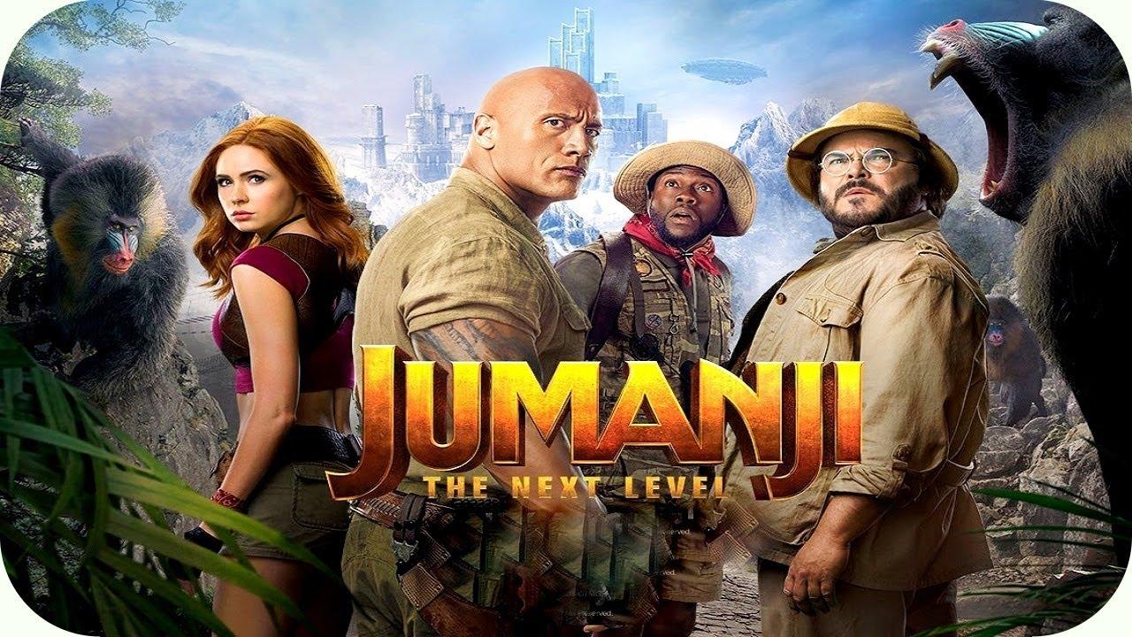 Movie poster of Jumanji