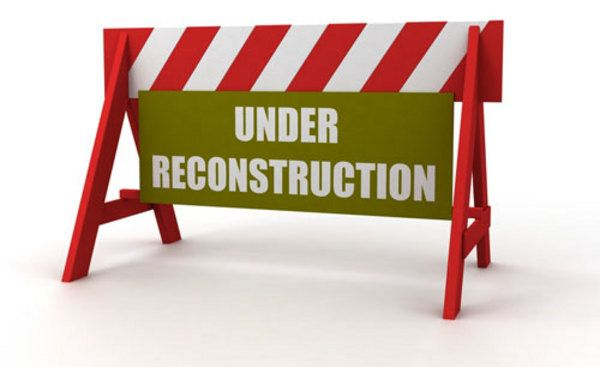 Cherry Hill East is under reconstruction.
