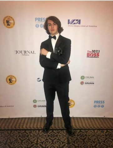 Zaiden Ascalon at last years film festival, posing for photos.