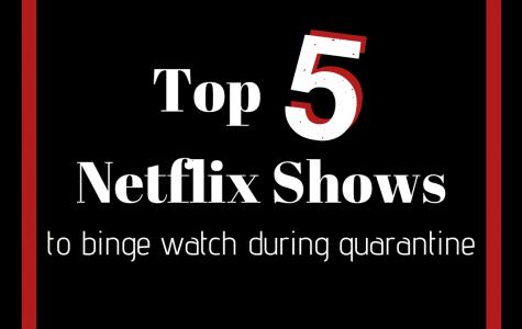 Top 5 Netflix shows to binge-watch during quarantine