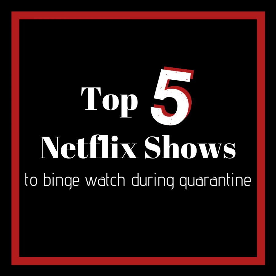 Top 5 Netflix shows to binge-watch during quarantine