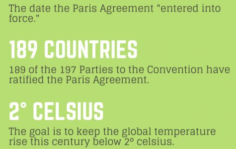 The Paris Agreement, a global agreement that entered into force in 2016, has the goal of