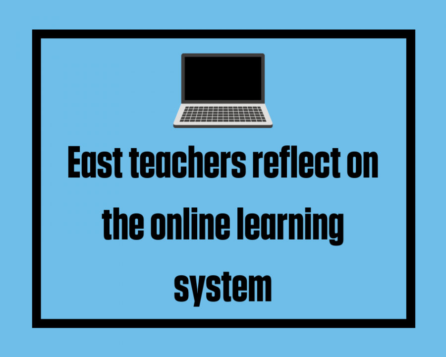 East teachers share their thoughts on the new learning system.