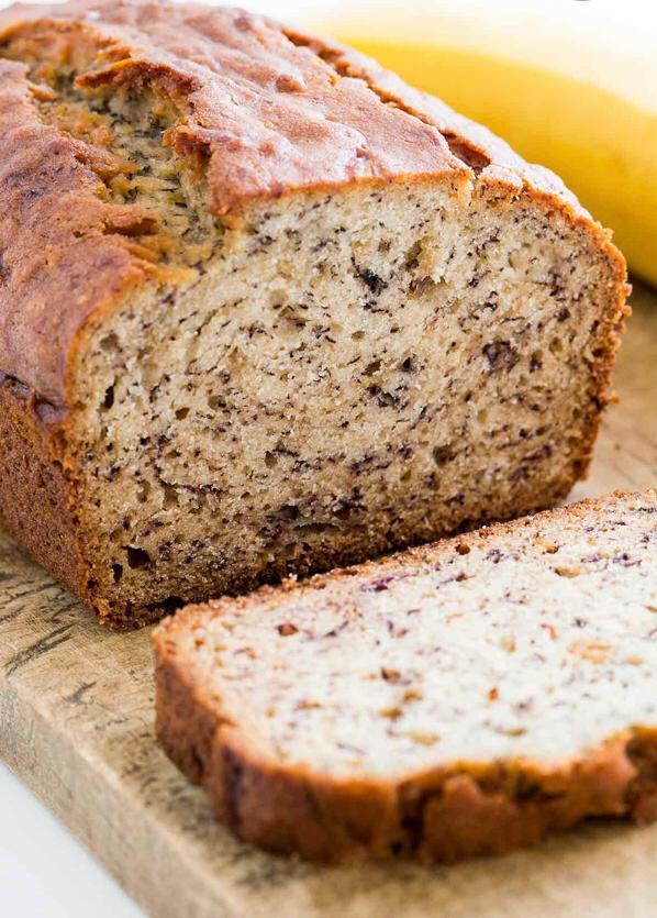 Delicious banana bread to sweeten the quarantine.