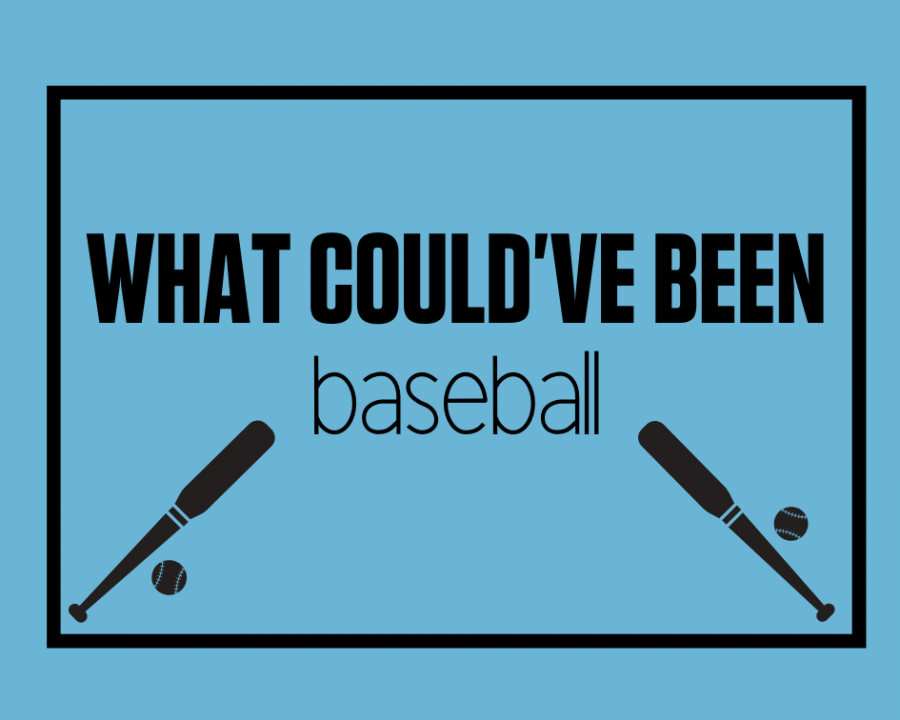 Athletes on the baseball team look back at
