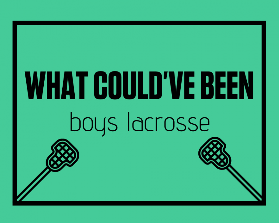 Some athletes from the boys lacrosse team look back at